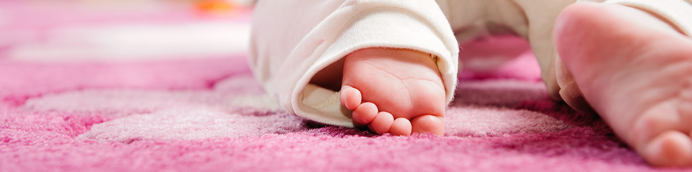Fertility Clinic Baby crawl